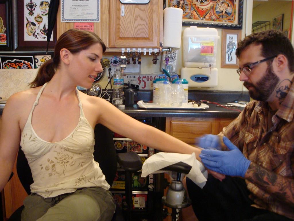 getting a vegan tattoo