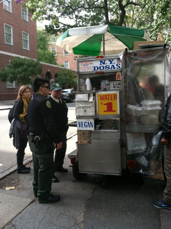 vegan food cart nyc