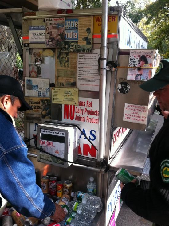 nyc vegan food cart