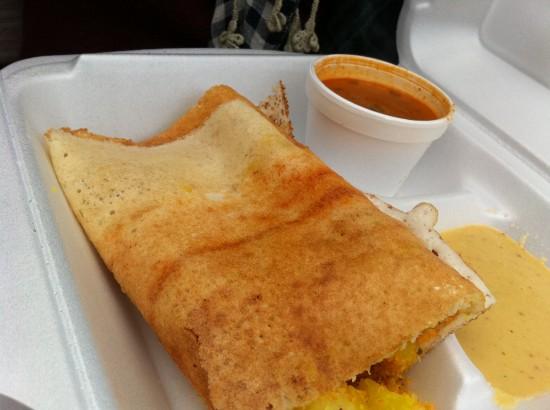 vegan Indian food cart nyc