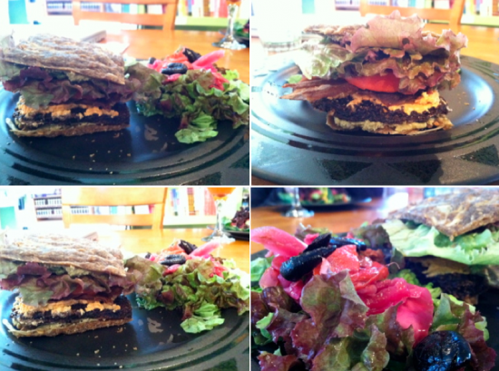 raw vegan burger vermont