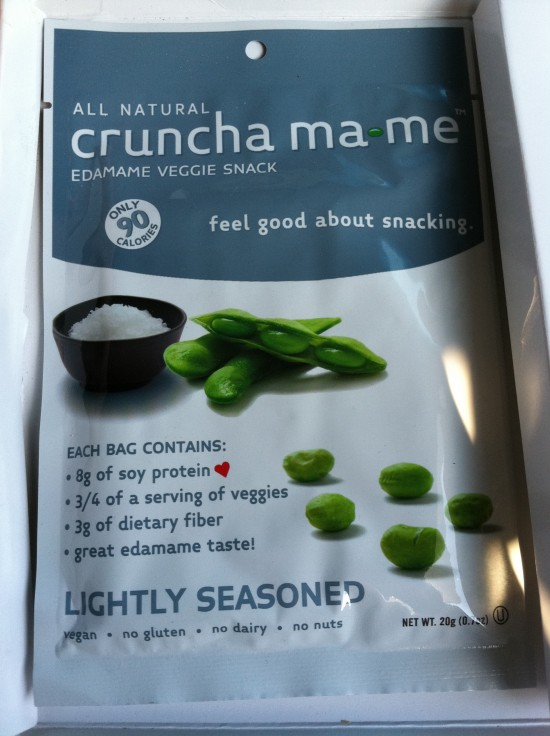 cruncha ma*me lightly seasoned