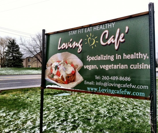 vegan restaurant Indiana