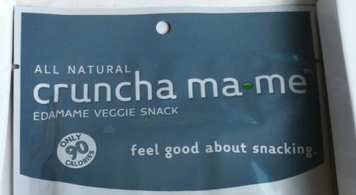 What We're Up To + Cruncha ma•me Edamame Snacks
