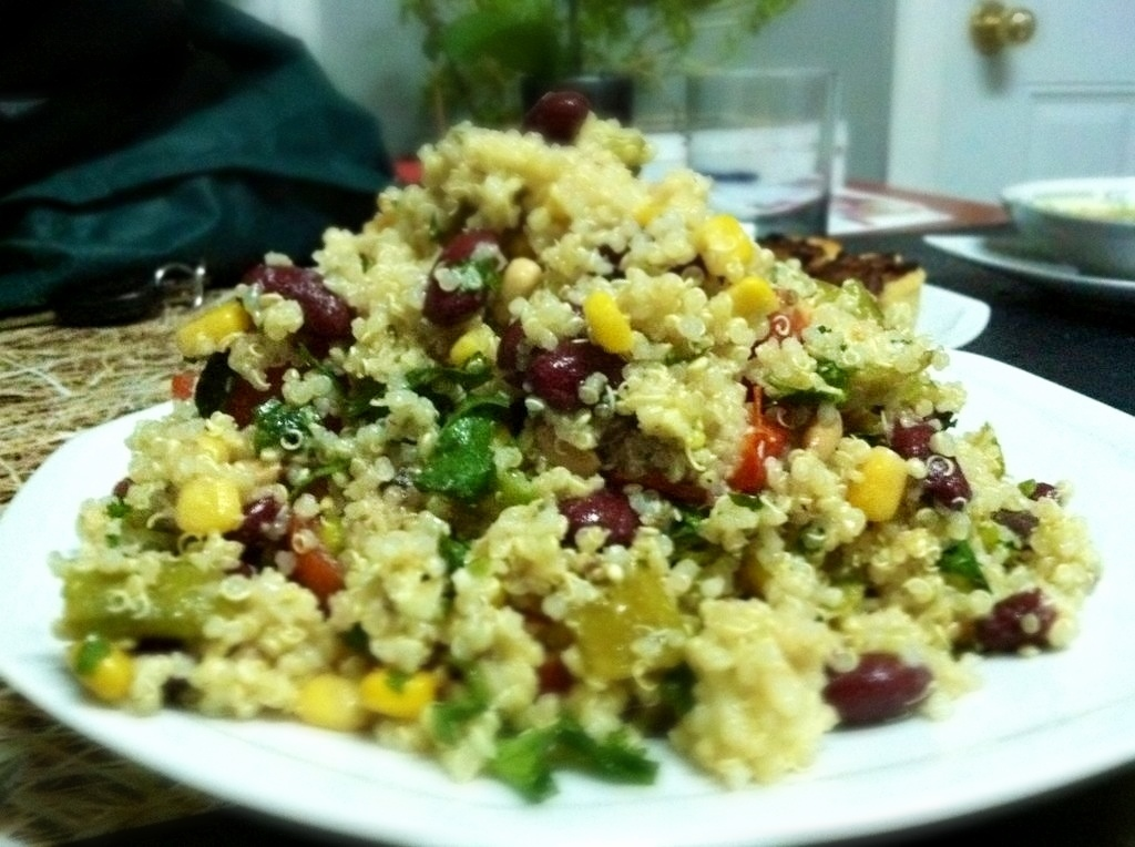 quinoa and bean medley in montreal