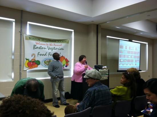 Milton Mills, M.D. & Evelyn Kimber Boston Vegetarian Food Festival