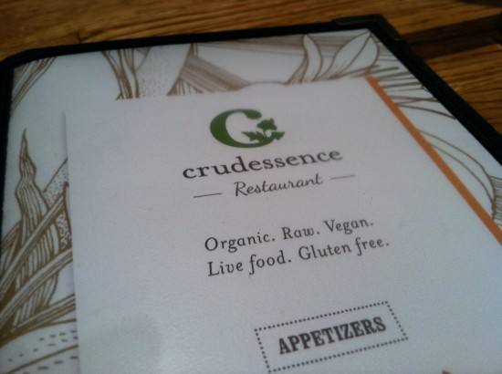 Crudessence raw vegan montreal