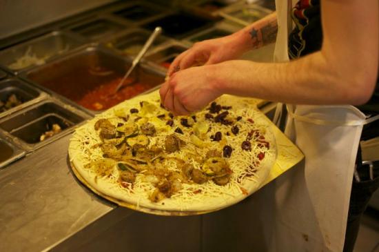 Peace O' Pie vegan pizza boston, ma