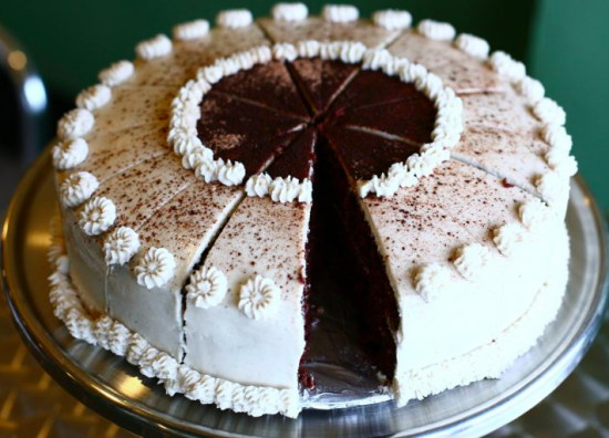 Peace O' Pie vegan cake