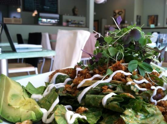 Prana Cafe raw vegan boston newton