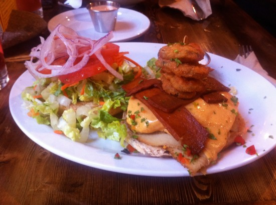 Native Foods Oklahoma Bacon Cheeseburger Plate