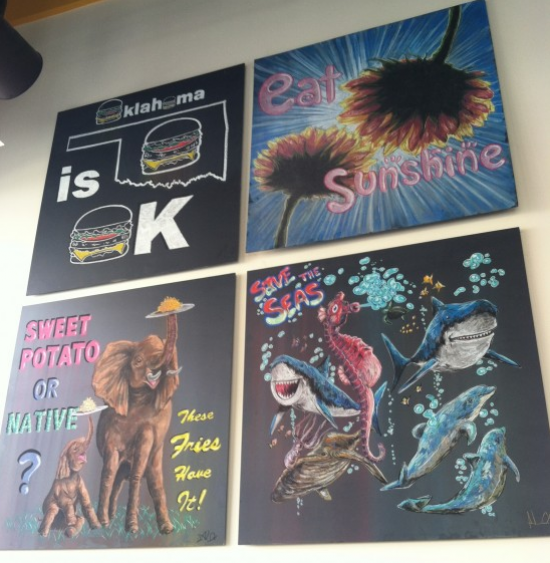 Native Foods wall art