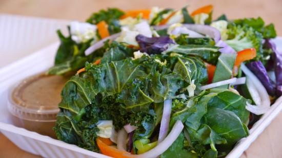 Raw Vegan Almond Pad Thai Mixed Vegetables