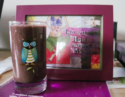 Jeanette's smoothie-a-day project