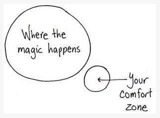 Live outside of your comfort zone
