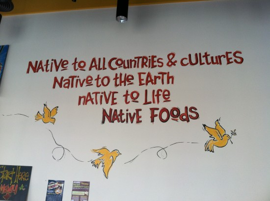 native foods wall art