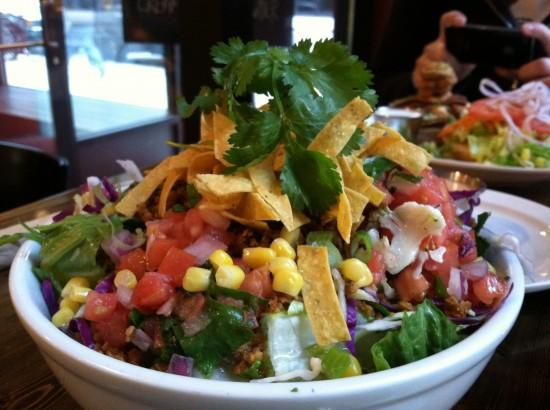 Native Foods Vegan Taco Salad Chicago, IL