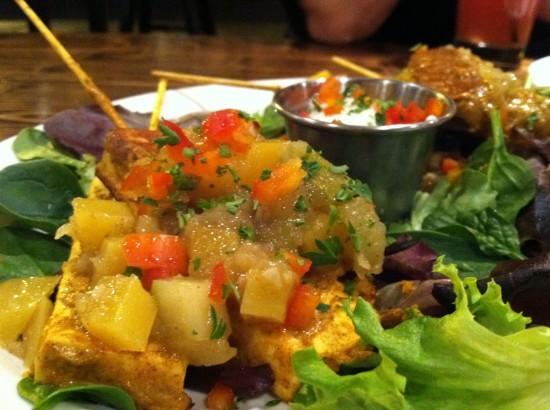 vegan chicken native foods chicago