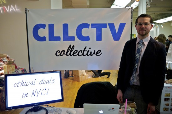 Cllctv Ethical Man Dan MIms Vegan Food Festival