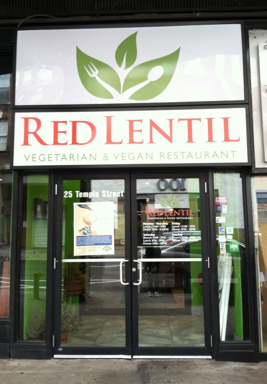 Red Lentil Vegan Restaurant New Haven Ct