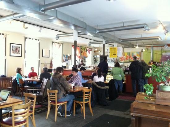 Cafe Evolution vegan florence, MA