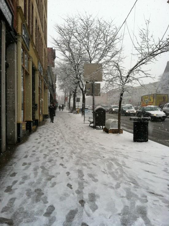 Northampton, MA snow