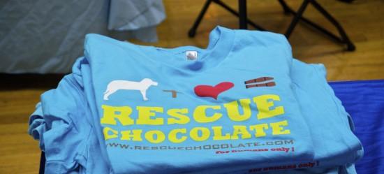 Rescue Chocolate Vegan Tee Shirt