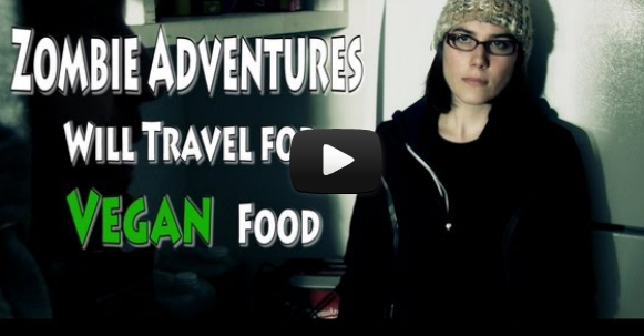 Will Travel For Vegan Food Meets The Vegan Zombie