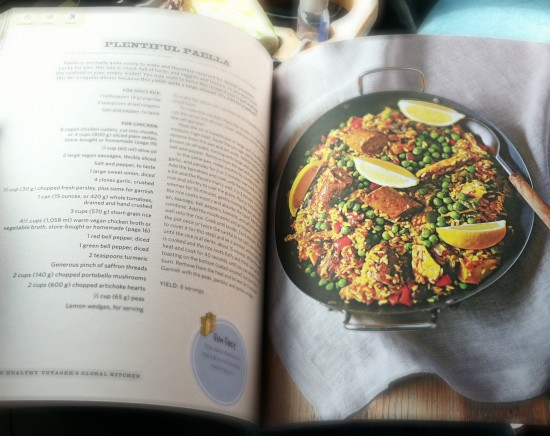 Global Kitchen vegan cookbook, Carolyn Scott