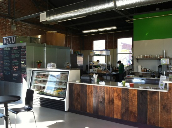 The Stand raw food and juice bar