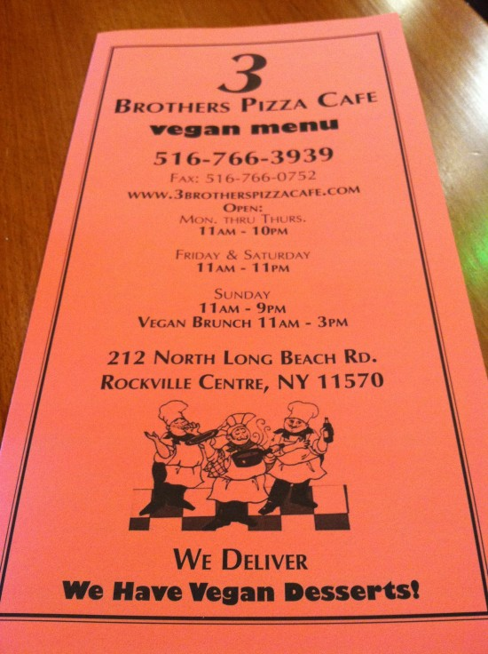 3 Brothers Pizza Cafe Long Island, NY