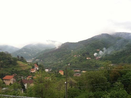 Genoa, Italy mountains