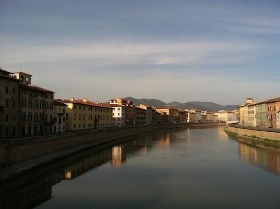 Arno River Pisa, Italy