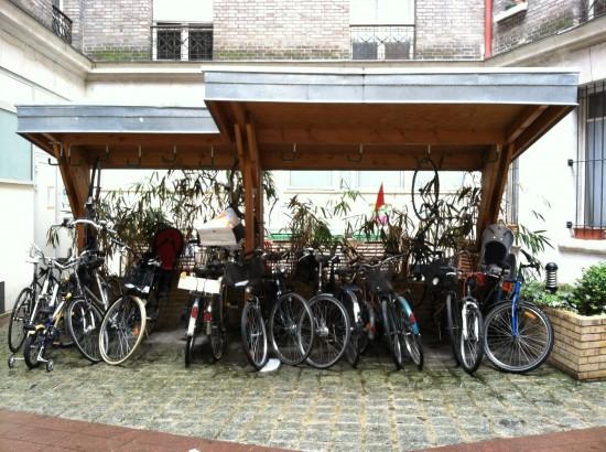 Bicycle Station Paris