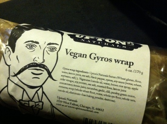 Vegan Gyros Wrap from Upton's Naturals