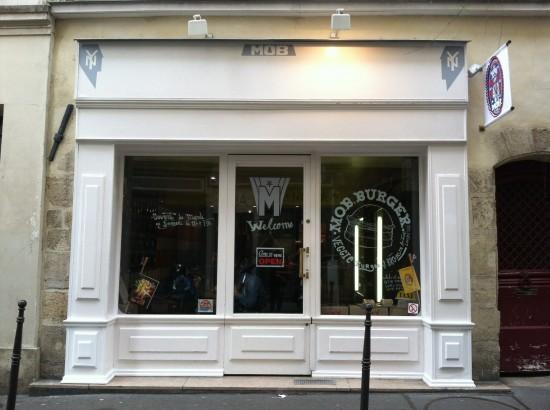 MOB vegan food Paris, France
