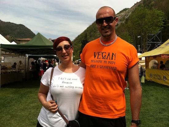 VeganFest 2012, Seravezza Italy