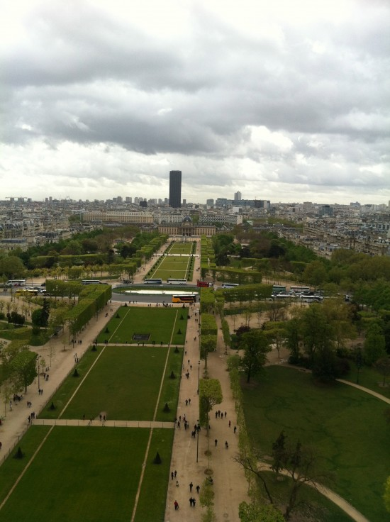 Eiffel Tower from the top