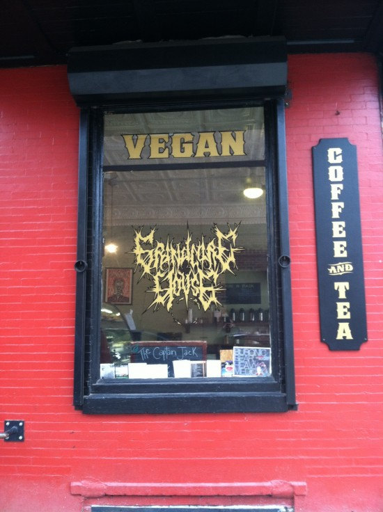 Grindcore House vegan coffee shop Philadelphia, PA