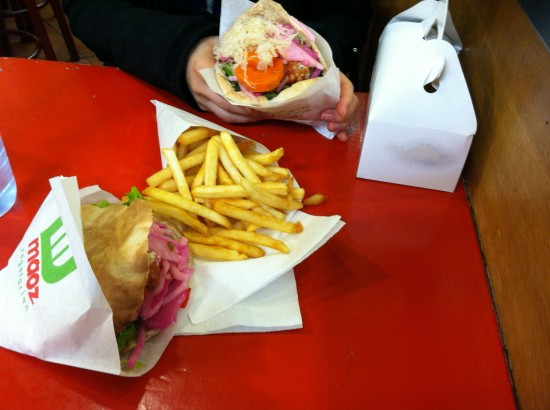 Vegan Falafel & Fries in Paris, France
