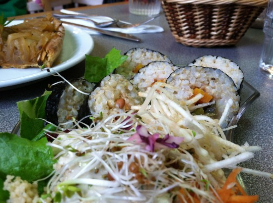 paris france vegan sushi