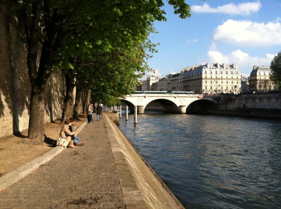 Paris France Walkway