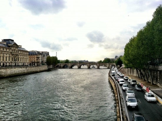 Paris France Water