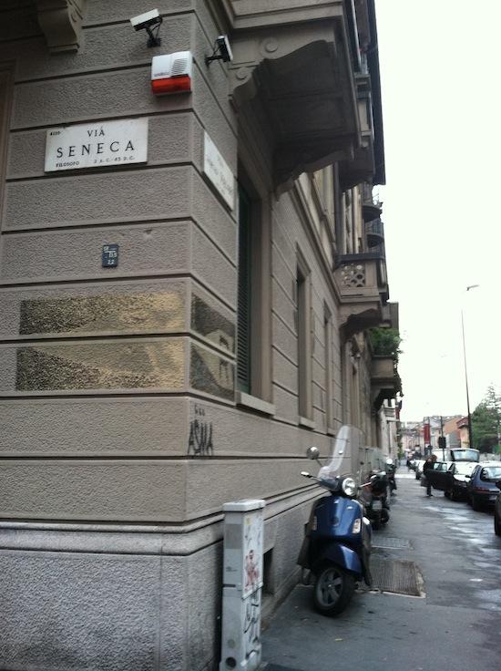 Seneca Street, Milan Italy