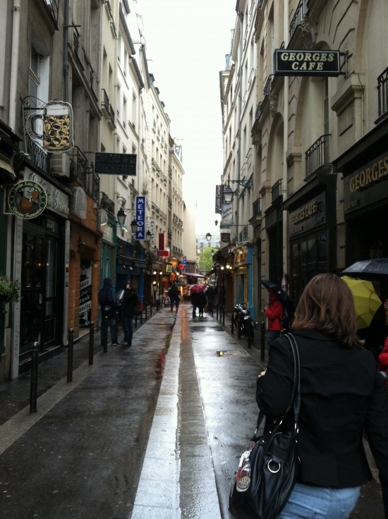 Paris France side streets vegan heaven