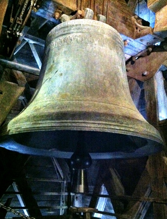 Notre Dame Cathedral Bell Paris France