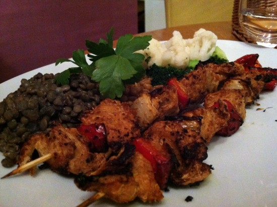 Vegan Chicken Kebab