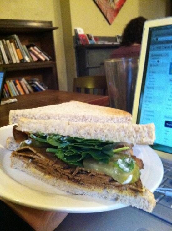 vegan sandwich grindcore house philly