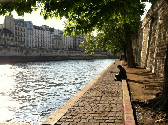 Water Walkway Paris