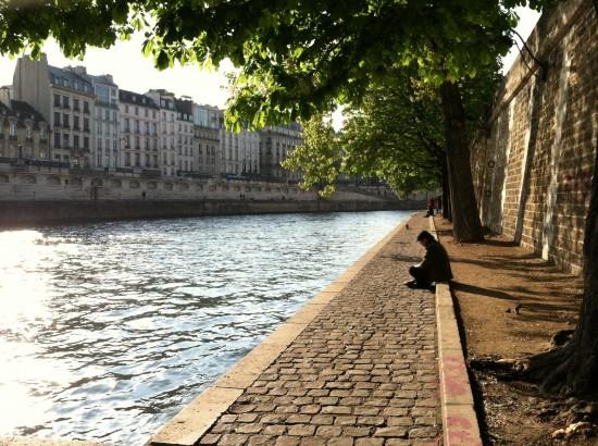 Water Walkway Paris